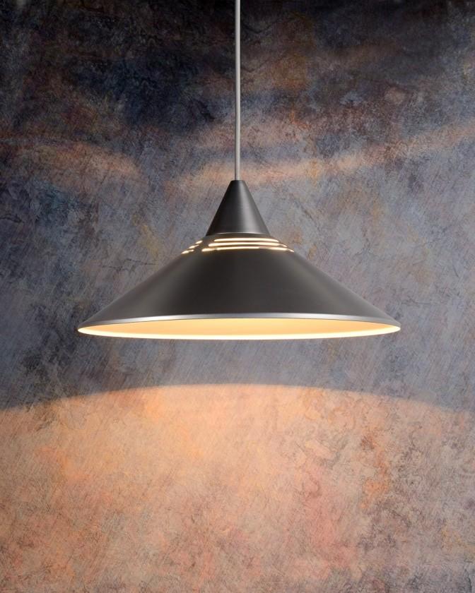 Nábytek Morley - stropní osvětlení, 60W, E27 (stříbrná )