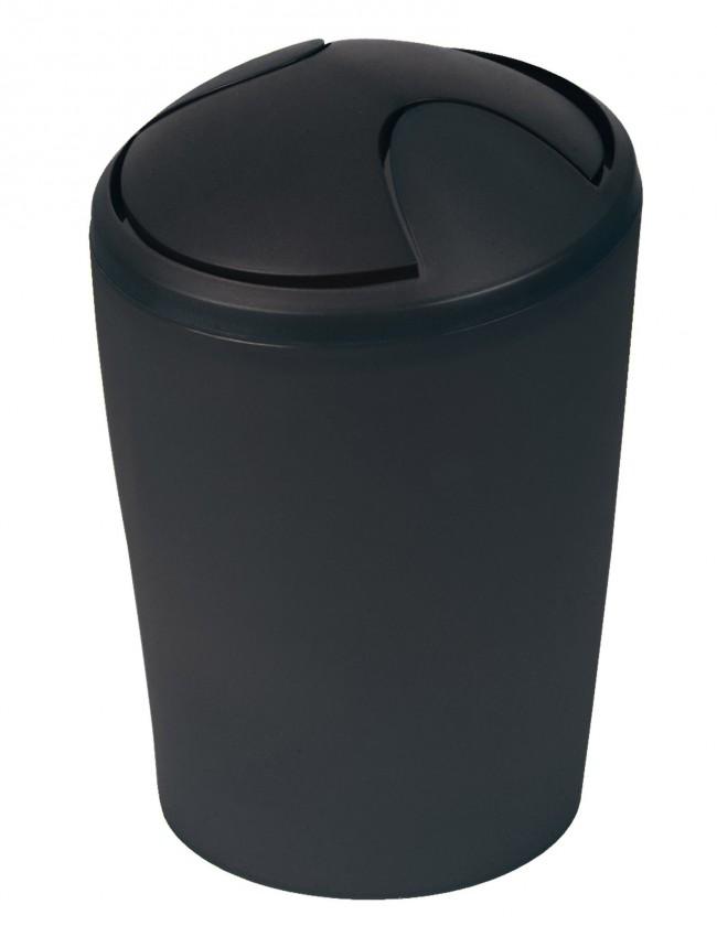 Nábytek Move-Odpadkový koš  black 5 L(černá)