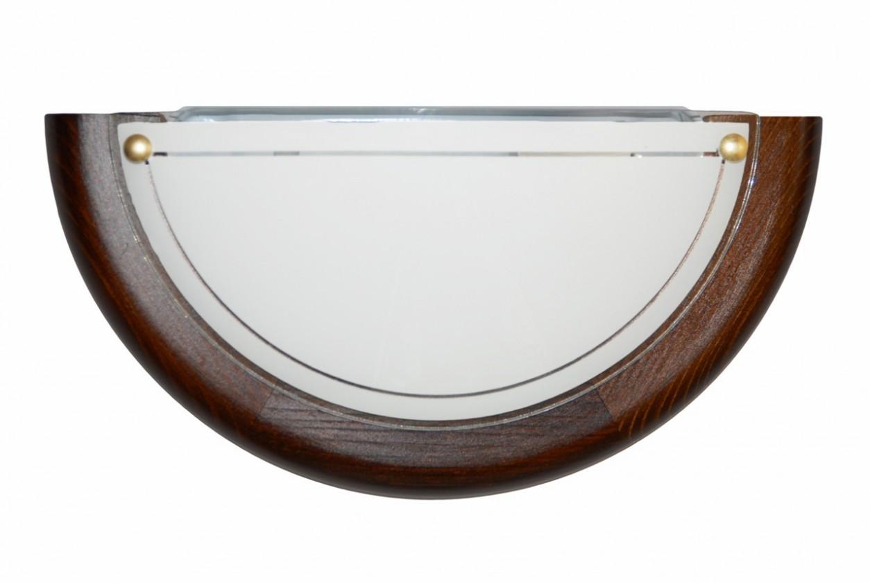 Nábytek Nástěnné svítidlo - 5502/A/TD (hnědá)