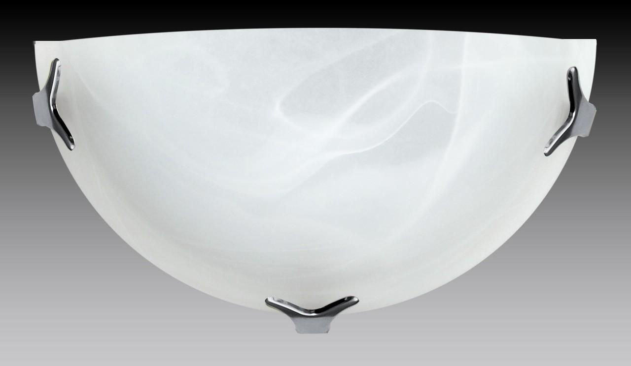 Nábytek Nástěnné svítidlo - 5504/A/CR/AL (bílá)