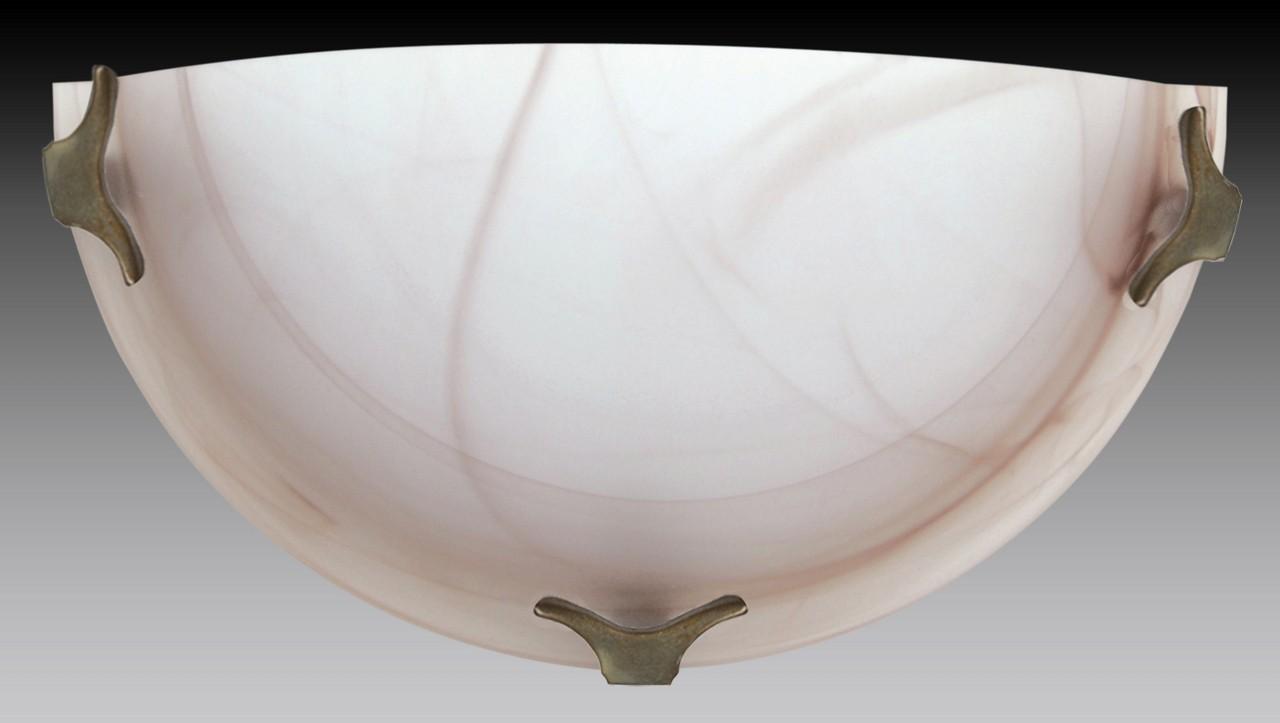 Nábytek Nástěnné svítidlo - 5504/A/ZL/HN (hnědá)