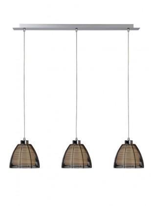 Nábytek Newport - stropní osvětlení, 60W, 3xE27 (černá)