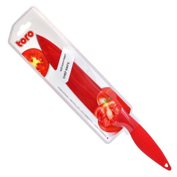 Nábytek Nůž 263698 (nerez,plast,červená)