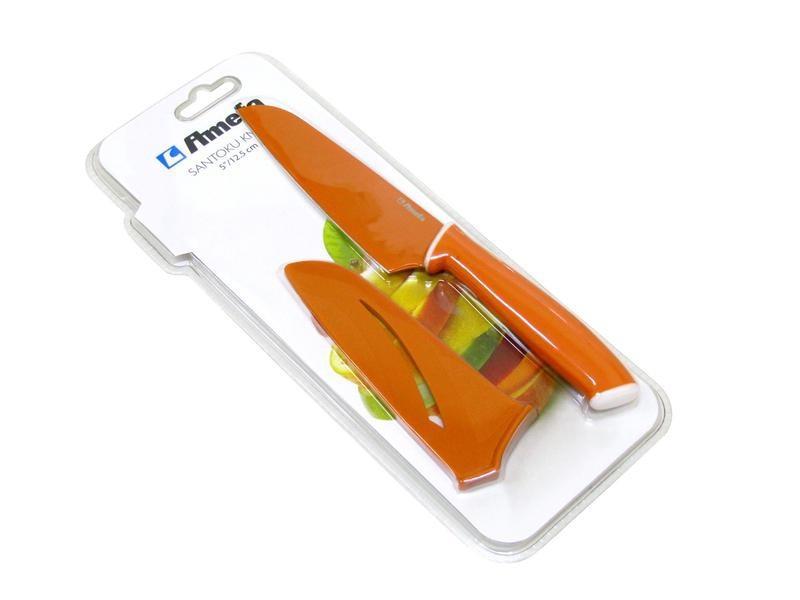 Nábytek Nůž 379427 (nerez,plast,oranžová)