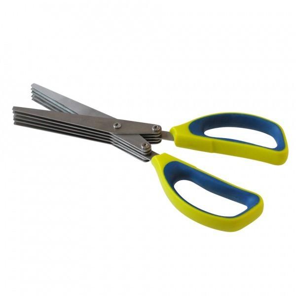 Nábytek Nůžky na bylinky 263538 (kov,dřevo)