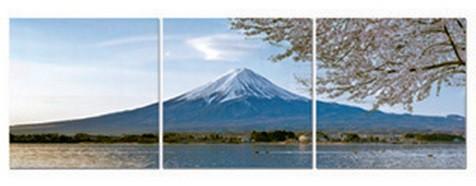 Nábytek Obraz, sada 3ks (modrá hora)