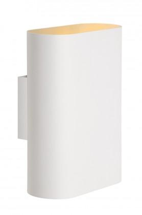 Nábytek Ovalis - nástěnné osvětlení, 9W, 2xE14 (bílá)