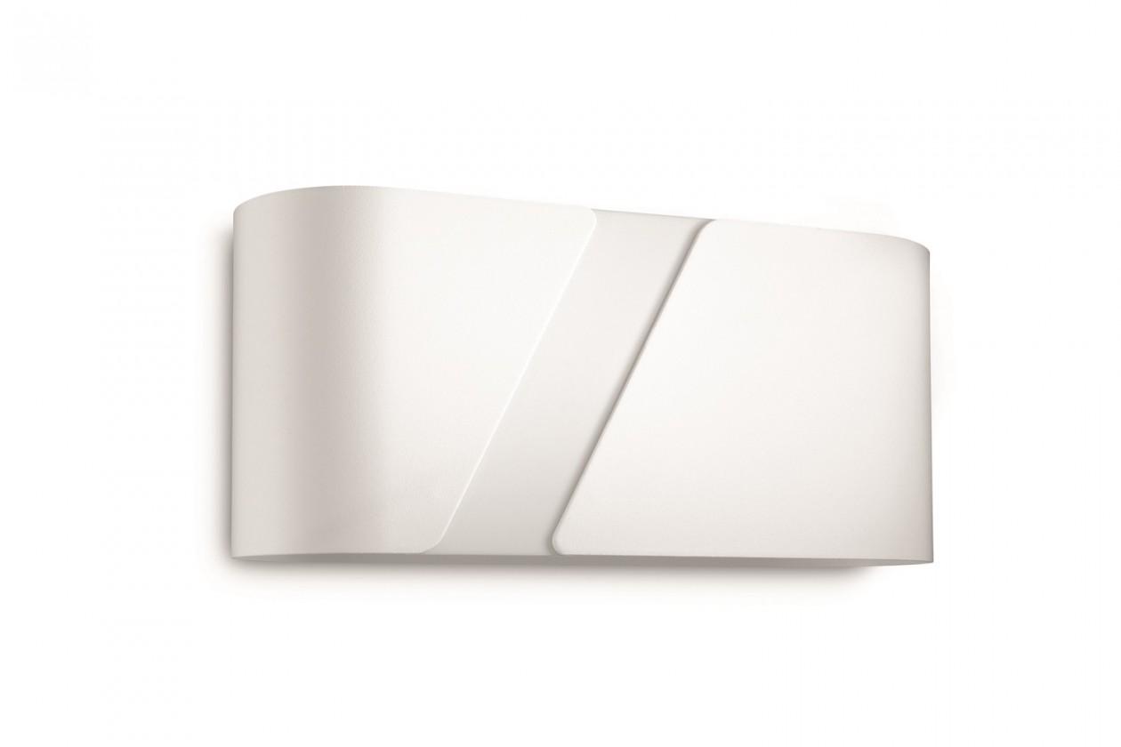 Nábytek Palermo - Nástěnné osvětlení E 27, 27cm (bílá)