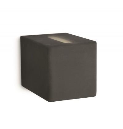Nábytek Palermo - Nástěnné osvětlení G9, 7,5cm (černá)