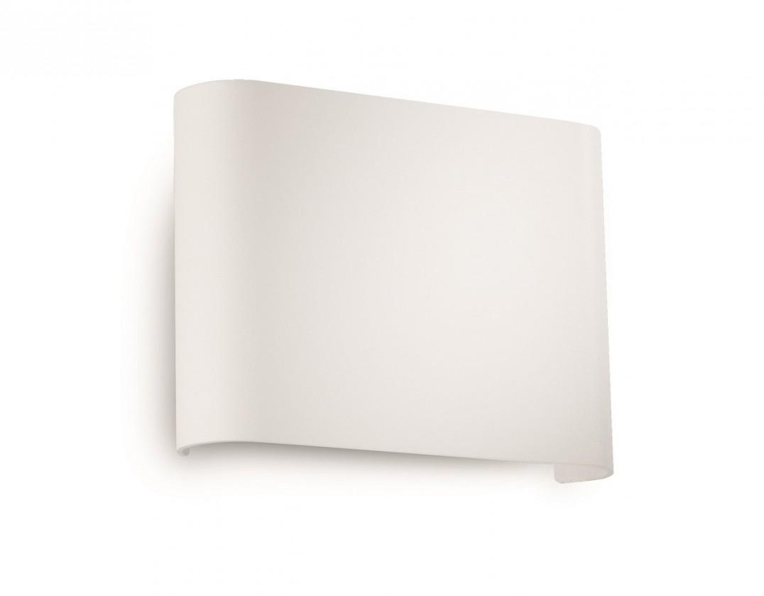 Nábytek Palermo - Nástěnné osvětlení LED, 13,3cm (bíla)