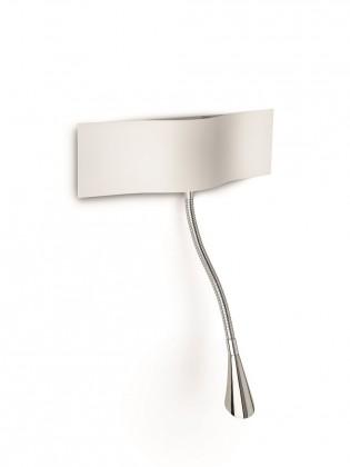 Nábytek Palermo - Nástěnné osvětlení LED, 28,8cm (bíla)