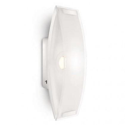 Nábytek Palermo - Nástěnné osvětlení LED, 9,2cm (bíla)