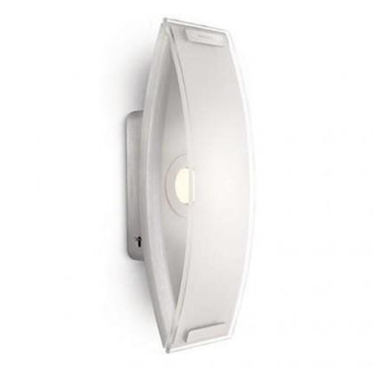 Nábytek Palermo - Nástěnné osvětlení LED, 9,2cm (hliník)