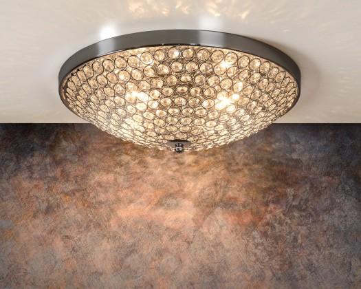 Nábytek Persis - stropní osvětlení, 28W, 4xG9 (stříbrná)