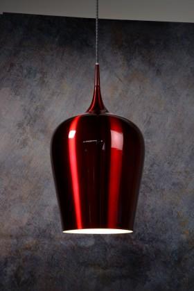 Nábytek Petra - stropní osvětlení, 60W, E27 (červená)