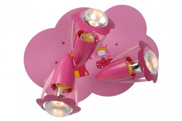 Nábytek Pinky - nástěnné osvětlení, 40W, 3xE14 (růžová)