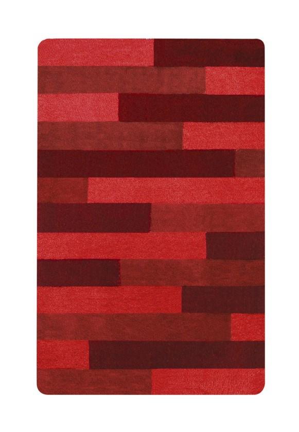 Nábytek Plank-Koupel. předložka 55X65(červená)