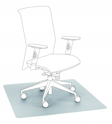 Nábytek Podložka pod židli (transparentní)