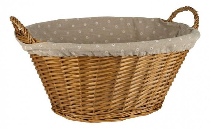Nábytek Prádelní koš LIS07-1158-HO (medová)