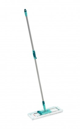 Nábytek Profi - Mop MicroDuo, teleskopická tyč (stříbrná,tyrkysová,bílá)