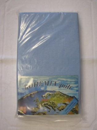 Nábytek Prostěradlo Jersey 180x200cm, modrá