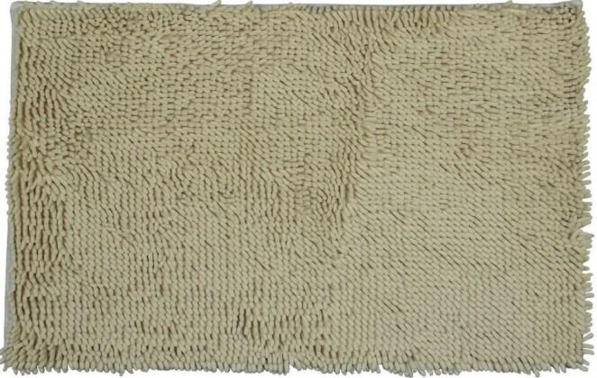 Nábytek Rasta micro - koupelnová předložka, 50x80 cm (béžová)