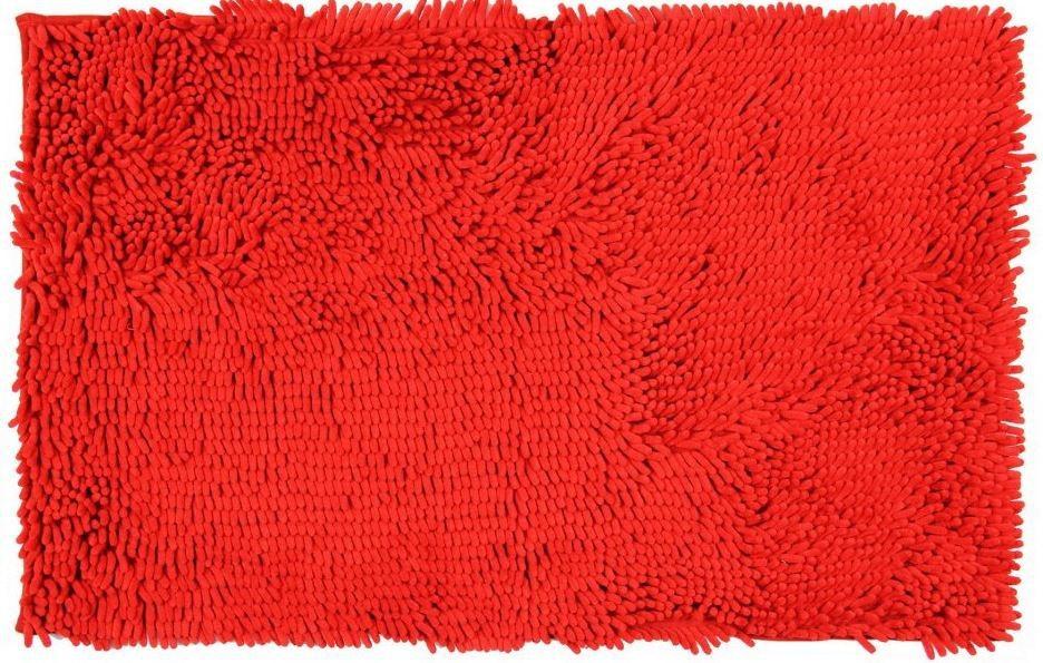 Nábytek Rasta micro - koupelnová předložka, 50x80 cm (červená)