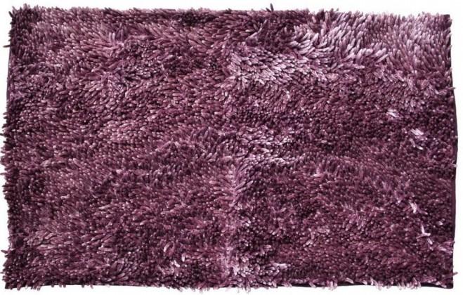 Nábytek Rasta micro new - koupelnová předložka, 50x80 cm (fialová)