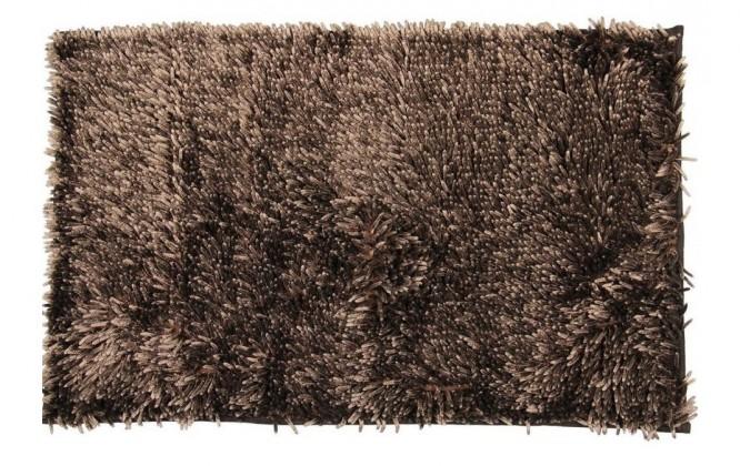 Nábytek Rasta micro new - koupelnová předložka, 50x80 cm  (hnědá)