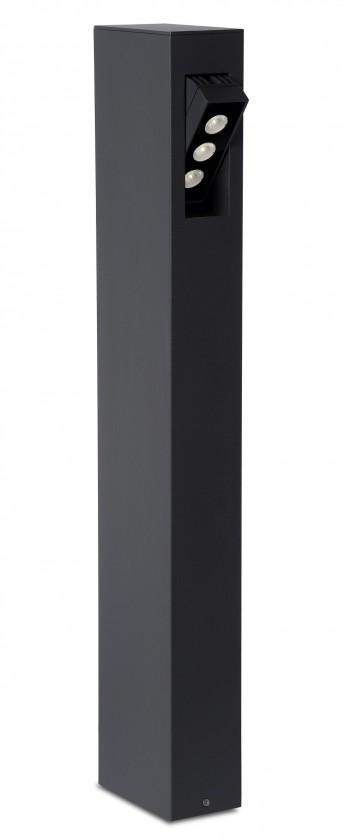 Nábytek Rectan - venkovní osvětlení, 9W, LED (černá)