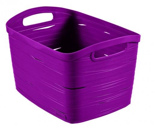 Nábytek Ribbon L (plast, fialová, 20l)