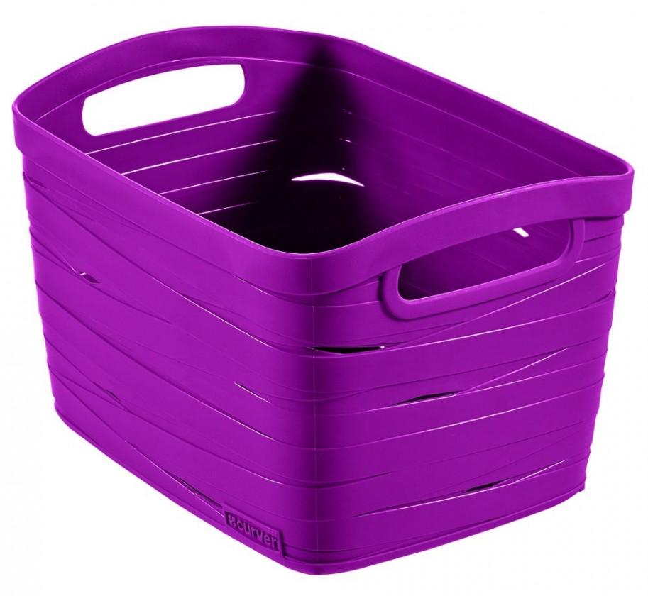 Nábytek Ribbon S (plast, fialová, 8l)