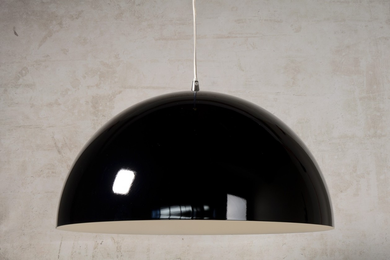 Nábytek Riva - stropní osvětlení, 60W, E27 (černá)