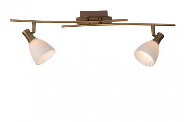 Nábytek Rox - stropní osvětlení, 28W, 2xG9 (bronzová)