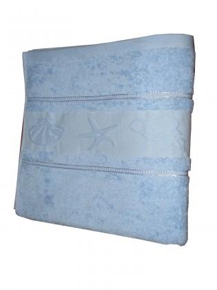 Nábytek Ručník BALT 50x100 sv.modrá