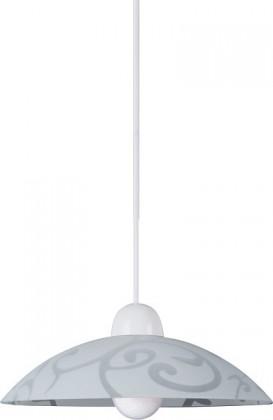 Nábytek Scroll - Stropní osvětlení, E27 (bílá/průsvitná)