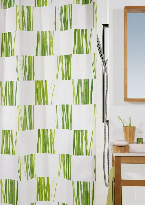 Nábytek Seagrass-Sprchový závěs 180x200(zelená)