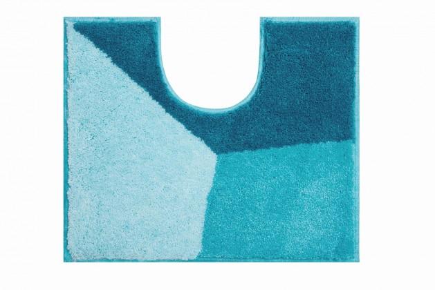 Nábytek Shi - WC předložka 50x60 cm (ledově modrá-petrolejová)