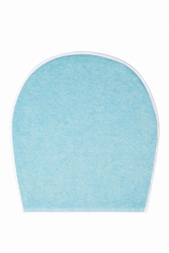Nábytek Shi - WC víko 47x50 cm (ledově modrá-petrolejová)