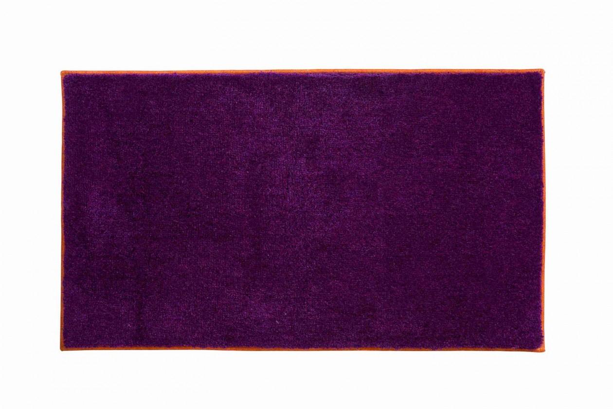 Nábytek Soto - Koupelnová předložka 65x115 cm (purpurová-papaya)