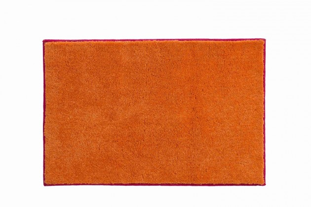 Nábytek Soto - Koupelnová předložka 65x115cm (růžová-oranžová)