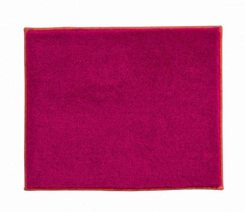 Nábytek Soto - Koupelnová předložka malá 50x60 cm (růžová-oranžová)