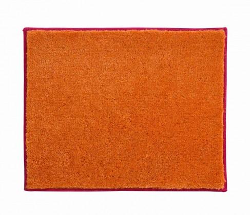 Nábytek Soto - Koupelnová předložka malá 50x60cm (růžová-oranžová)