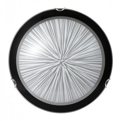 Nábytek Sphere - Stropní osvětlení, E27 (bílá/černá )