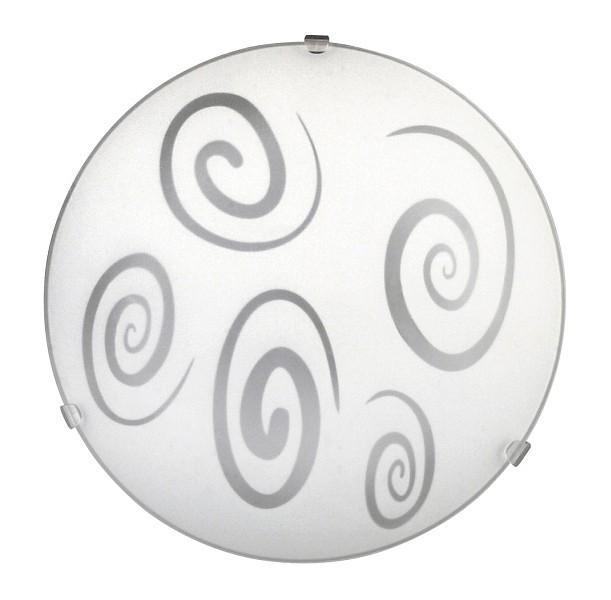 Nábytek Spiral - Nástěnná svítidla, E27 (bílá/průsvitná)