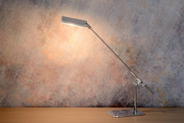 Nábytek Stratos - lampička, 5W, LED (stříbrná)