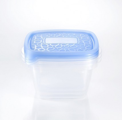 Nábytek TAKE AWAY 2, 3x1,1l (plast,modrá)