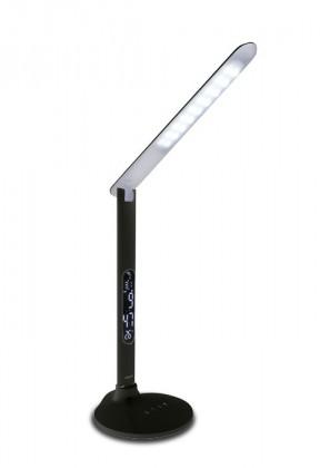 Nábytek Tessa - Stolní lampička, 27LED, 10W  (černá)
