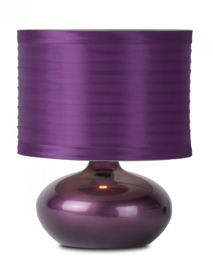 Nábytek Tina - lampička, 40W, E14 (fialová)
