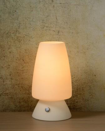 Nábytek Toeky - lampička, 40W, E14 (bílá)